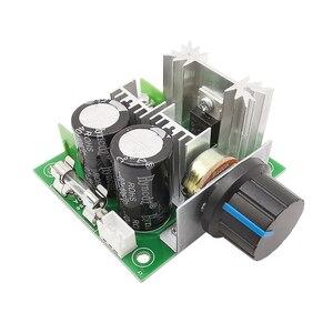 5Pcs PWM DC Motor Speed Controller with Knob Switch Adjustable Dimmer 400W Regulator Governor Module DC 12V 24V 13khz