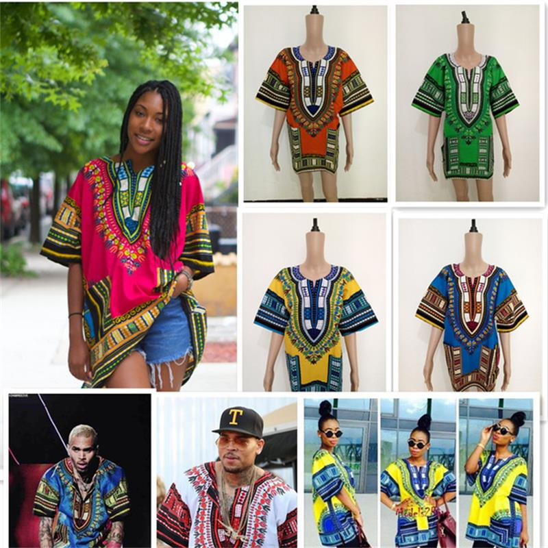 new african tranditional long loose dress vintage hippie dashiki caftan ethnic indian 2020 African Tops For Women Dashiki Men African Traditional Clothes Hippie Shirt Caftan Vintage Unisex Tribal Top Bazin Riche