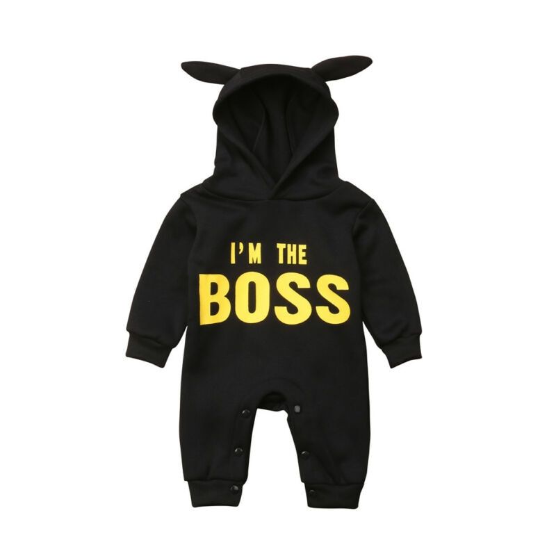 Baby boy girl Clothes New born Winter Hooded Rompers Thick Cotton Outfit Newborn Jumpsuit Children Costume toddler romper