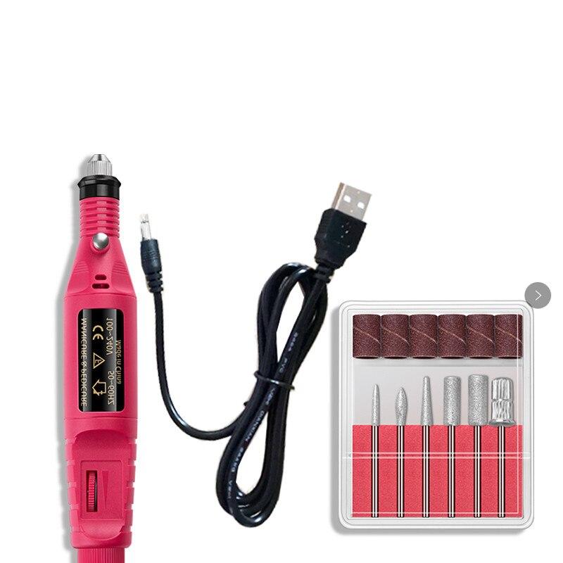 100 v-240 v usb caneta de gravura elétrica moedor de pedra moagem máquina de manicure gravador moagem polimento abrasivo máquina