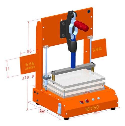 Universal Test Frame PCB Testing Jig PCBA Test Fixture Tool Bakelite Fixture Test Rack Printed Circuit Board enlarge