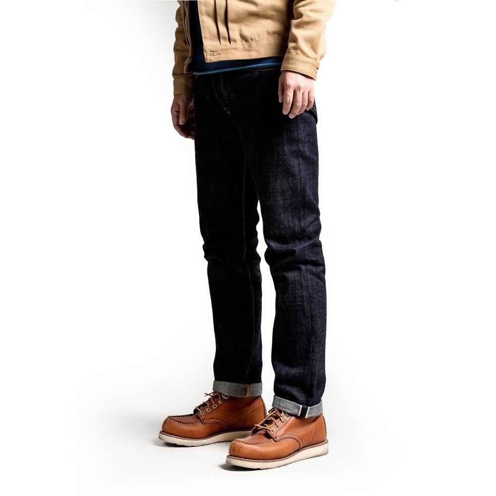 SD107-0001 RockCanRoll Read Description! Heavy Weight Indigo Selvage Unwashed Pants Unsanforised Thick Raw Denim Jean 17oz