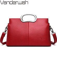 New Women Top-Handle Bags Soft Leather Handbags Female Shoulder Bag Crossbody Bags For Women Ladies Messenger Bag Bolsa Feminina