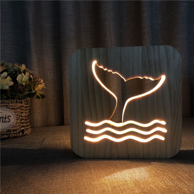 cute led resin animal rat mouse desk lights small art mouse children s table lamp lights small mini mouse light night light Whale Tail Animal Table Lamp 3D Night Light Wooden Night Light Birthday Gift Christmas Lights  Led Lights Decoration