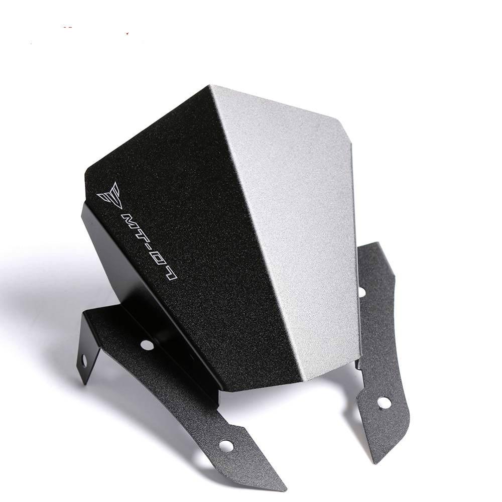 Motorcycle CNC Aluminum Alloy Windshield Windscreen Wind Deflector For Yamaha MT-07 MT 07 MT07 FZ-07 FZ 07 FZ07 2013-2017