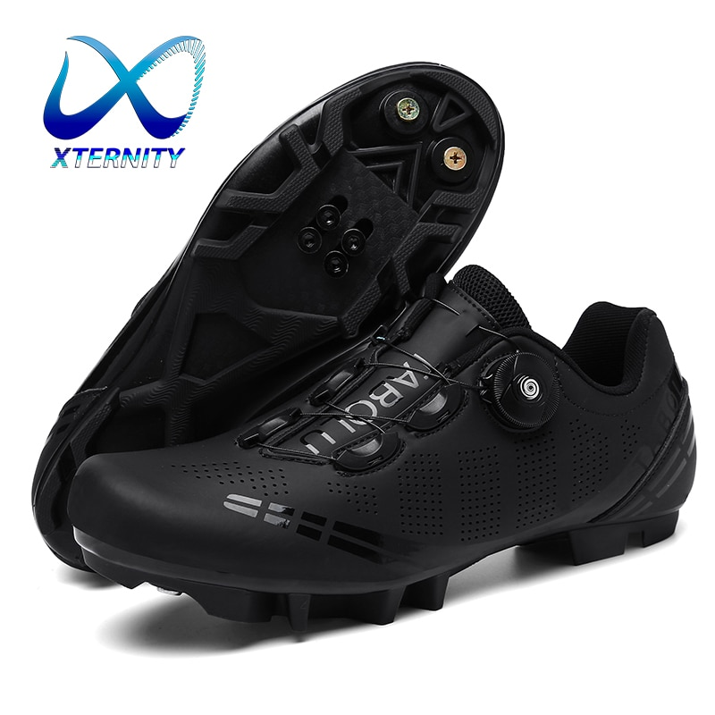 Cycling Shoes Road Bike Mens Bicycle Athletic Racing Sneakers Spd MTB Cycling Shoes Women Mountain Bike Shoes Sapatilha Ciclismo