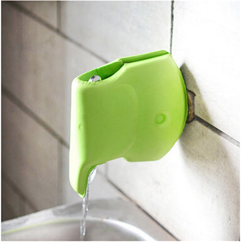 1 pieza de dibujos animados EVA cubierta de protección para grifo de agua protectores de seguridad para bebés protectores para grifo de baño productos protectores para bordes y esquinas 878468