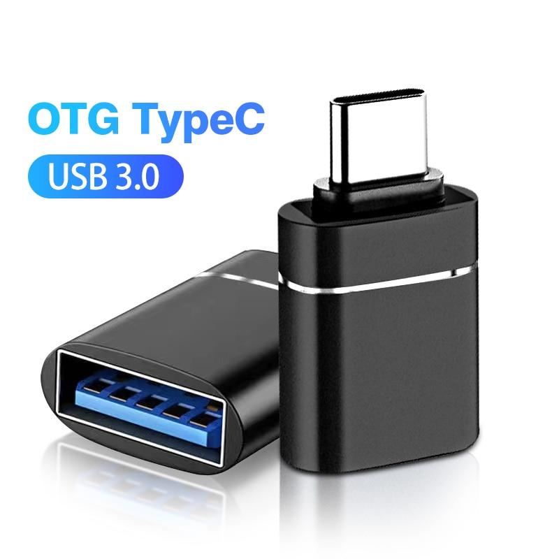 ANMONE-Adaptador Tipo C OTG, convertidor USB 3 a USB C OTG para...
