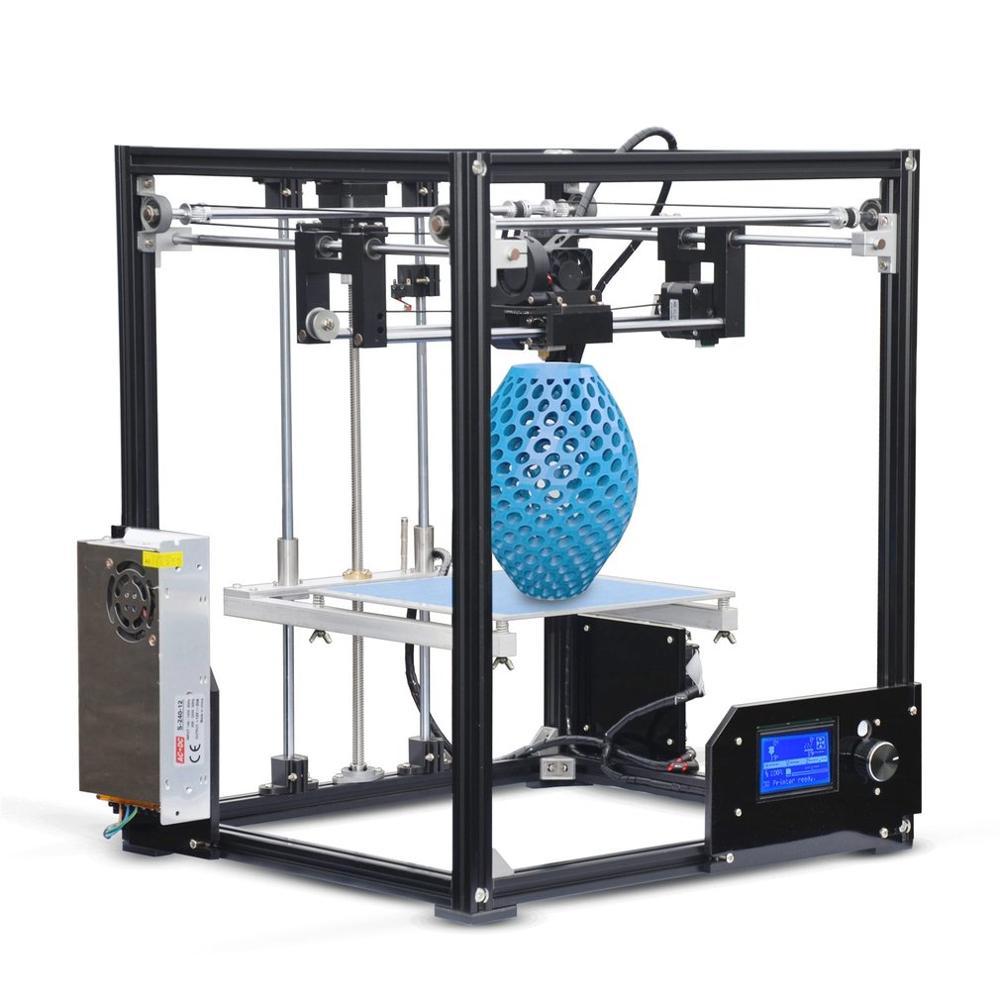 High Performance 210*210*280mm Print Size X5 DIY 3D Printer Professional High-Precision Printing Machine EU Plug
