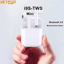 HEYPOD mi ni TWS CUFFIE Senza Fili Di Sport Wirless Bluetooth Auricolare Musica Auricolare Auricolari Per iPhone Xiao mi mi 8 Huawei P30 pro
