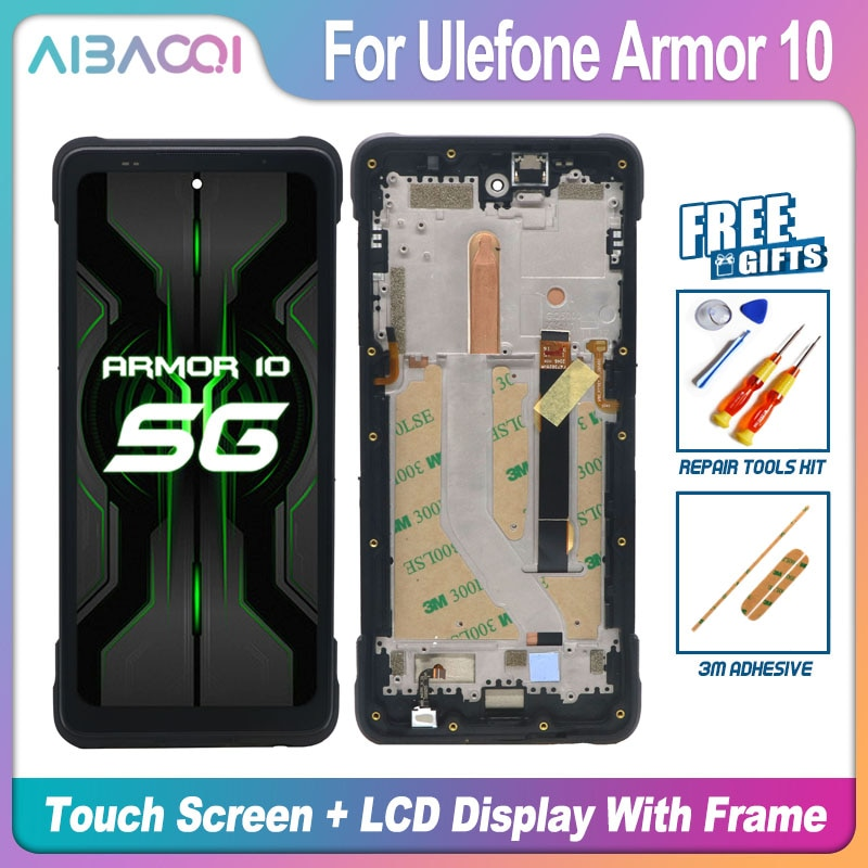 New Touch Screen+2340X1080 LCD Display+Frame Assembly Replacement For Ulefone Armor 10 Armor 9 9E Android 10 Phone enlarge