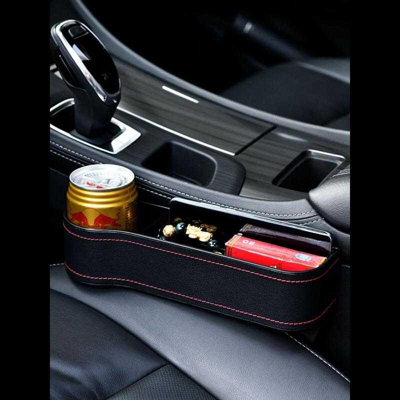 Gadget Auto Organiser Rangement Voiture Organizer Accesorios Coche Car Accessories Interior Universal Seat Gap Storage Box enlarge