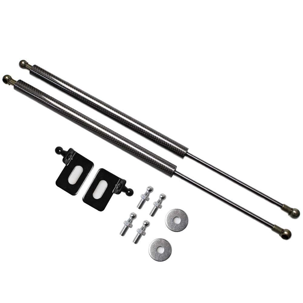 Amortiguador de Gas del capó del estilo del coche para Honda Accord CL7 CL8 CL9 2002-2008 amortiguador de Gas amortiguador de fibra de carbono