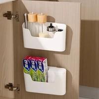 multi functional kitchen shelf cabinet storage box punch free sundries cosmetic remote control organizer bathroom storage rack