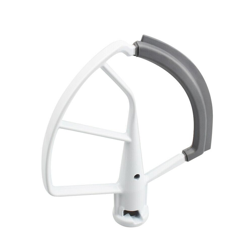 5,5-6QT, hoja batidora de borde de silicona Flexible para KitchenAid KFE6L, mezclador de cuenco mezclador de elevación de pie, espátula plana profesional