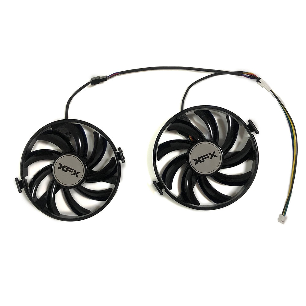 XFX R9 380X R7 370 GPU VGA Cooler FY09010H12LPB/A FDC10H12S9-C Cooling Fan For Radeon R9-380X R7 370 Grahics Card As Replacement