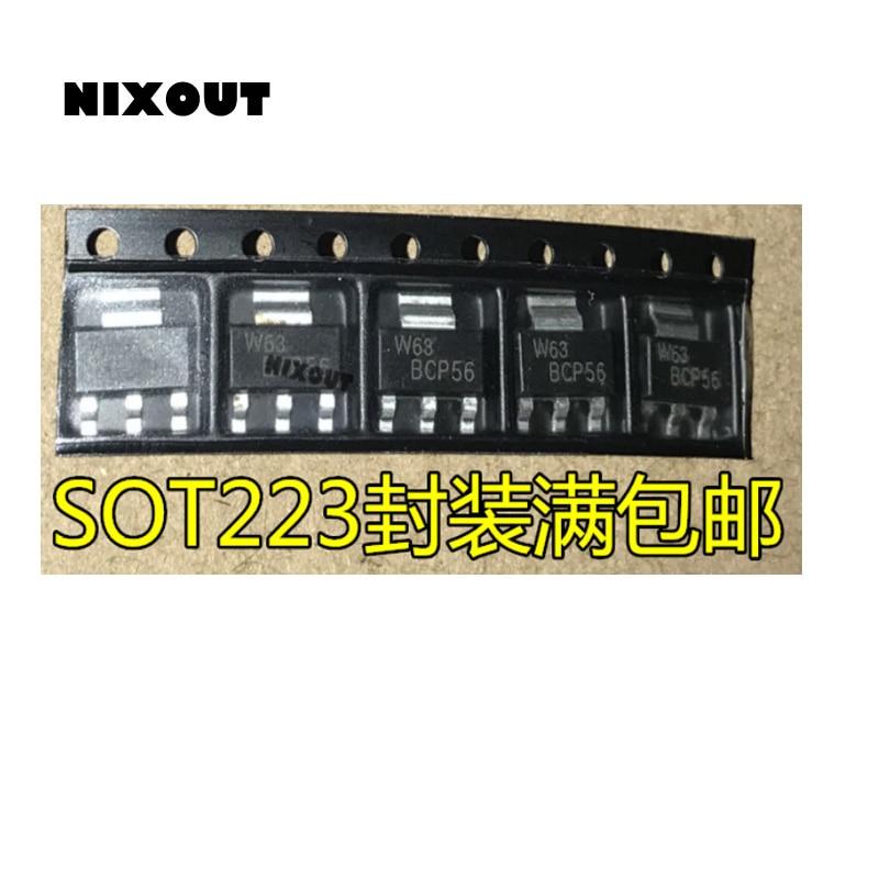 10 unids/lote 100% nuevo Original BCP56T1G BCP56 SOT-223 en Stock (gran descuento si necesitas más)