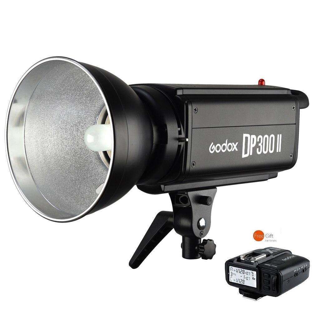 Godox DP300II 300W ستوديو ستروب 2.4 GHz اللاسلكية GN58 مع X1 الارسال لسوني كانون نيكون فوجي فيلم كاميرات