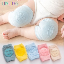 Kids Non Slip Crawling Elbow Infants Toddlers Baby Accessories Smile Knee Pads Protector Safety Knee