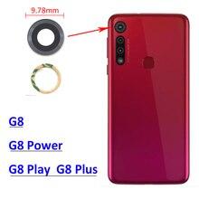 100 шт., маленькая стеклянная крышка для задней камеры, запасные части для Moto G8 / G8 Plus / G8 Power / G8 Play