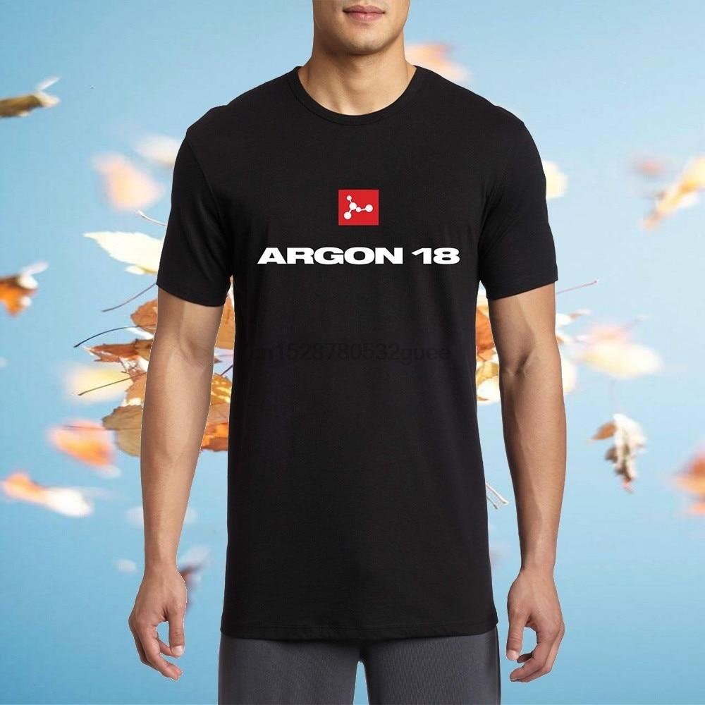 Argon 18 Canadian Road Bikeer Logo bicicleta hombres moda camiseta ropa