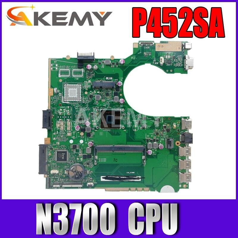 Akemy X751MA محمول اللوحة الأم ل For Asus X751MA X751M K751M X751 اختبار اللوحة الأصلية 4G RAM N2830 وحدة المعالجة المركزية