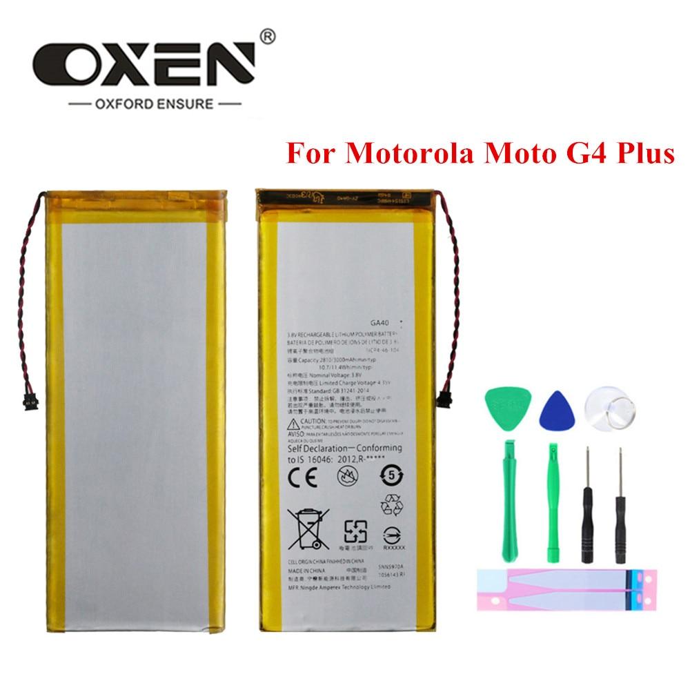 Bueyes GA40 de la batería para Motorola Moto G4 más repuesto de...