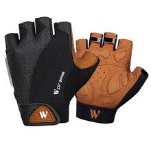 WEST BIKING Cycling Gloves Breathable Anti Slip Anti-shock Bike Bicycle Motorcycle Men Women Sports Gloves