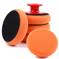car wash wax polish pad polishing pad sponge car cleaning cloth microfiber applicator for auto polisher waxing sponge