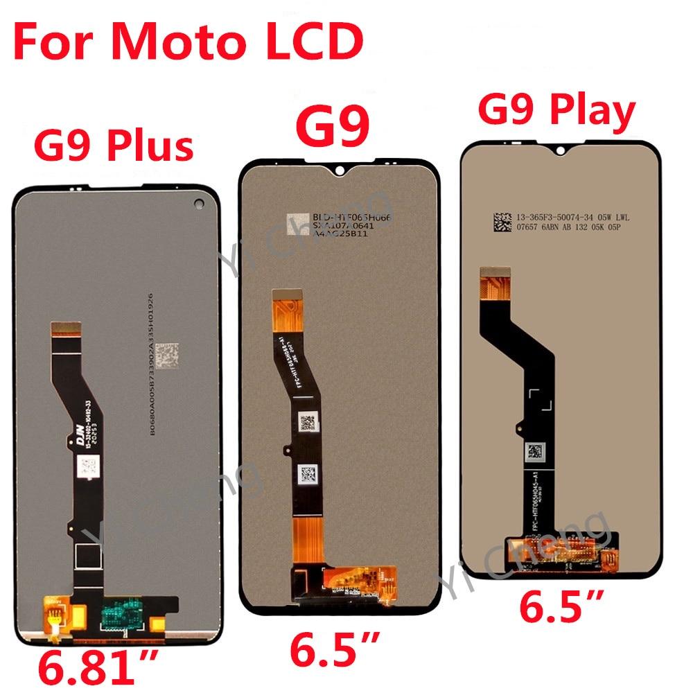 الأصلي G9 LCD لموتورولا موتو G9 اللعب LCD عرض تعمل باللمس محول الأرقام الجمعية ل موتو G9 زائد LCD عرض استبدال