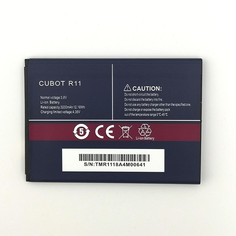 100% Original CUBOT R11 2800mAh para teléfono CUBOT R11 en Stock batería de alta calidad + número de seguimiento