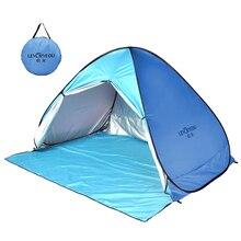 LEVORYEOU Zelte für Strand Picknick Zelte Sun Shelter, Aotomatic Pop Up Faltbare Tragbare Zelte für Strand Outdoor Zelte