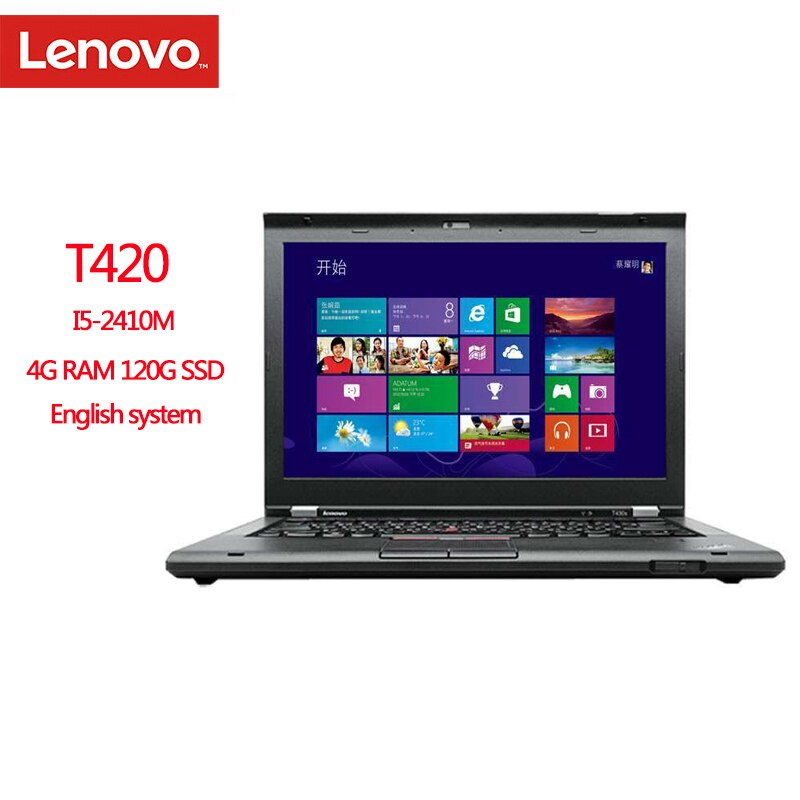 Review Refurbish Lenovo ThinkPad T420 Notebook Computers 4GB/8GB Ram Laptop 1280×800 14 Inches Win7 English System Diagnosis Pc Tablet