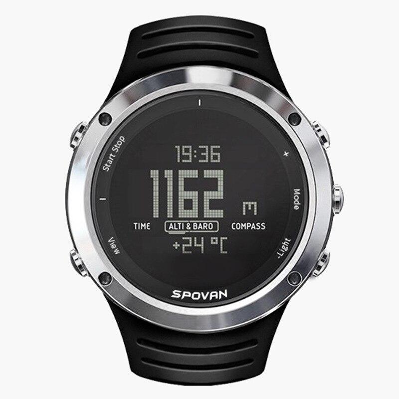 Intelligent outdoor sports watch spovan multi-function fashion led digital watch cross-border smart watch