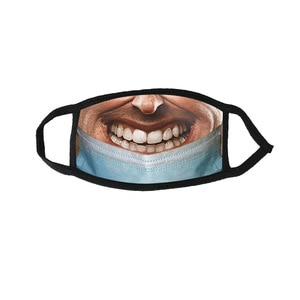Adult Animal Printed Funny Outdoor Breathable Cycling Mondmasker Scarf Mondkapjes mascherine Halloween Cosplay Mask Mascarillas
