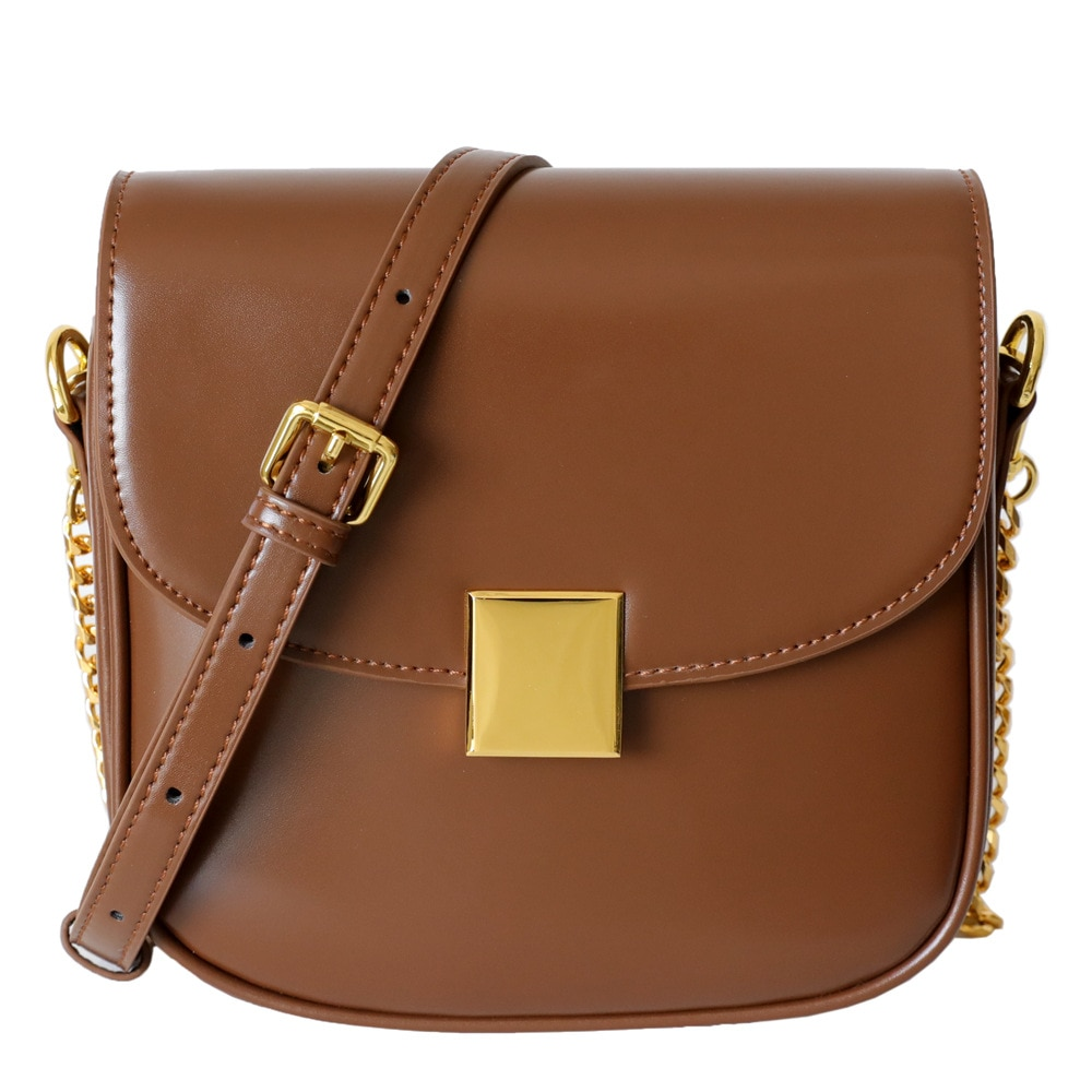2021 Trendy Fashion Summer Shoulder Leather Tofu Bag with High-quality Texture and Small Cross-body Chain Small Square Bag
