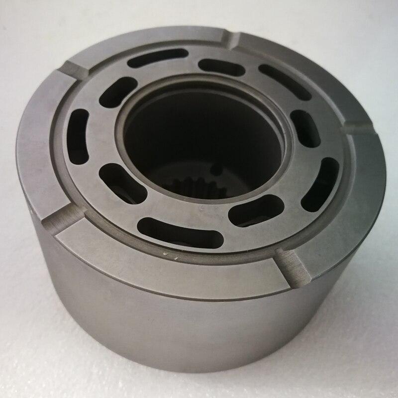 اسطوانة كتلة PSVD2-26E PSVD2-27E الهيدروليكية مضخة أجزاء ل إصلاح الهيدروليكية مضخة KAYABA إصلاح عدة قطع الغيار