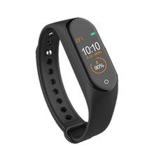 M4 écran coloré bracelet intelligent podomètre soins de santé multi-sports appel rejet sommeil sain montre intelligente
