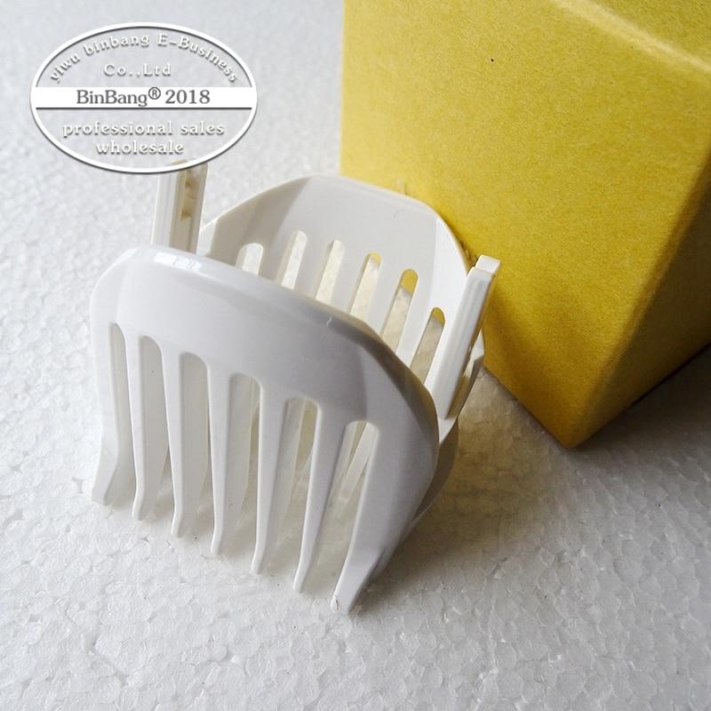 Peine de posicionamiento para peluquero peine transparente pinza de plástico adecuado para ER-GB40