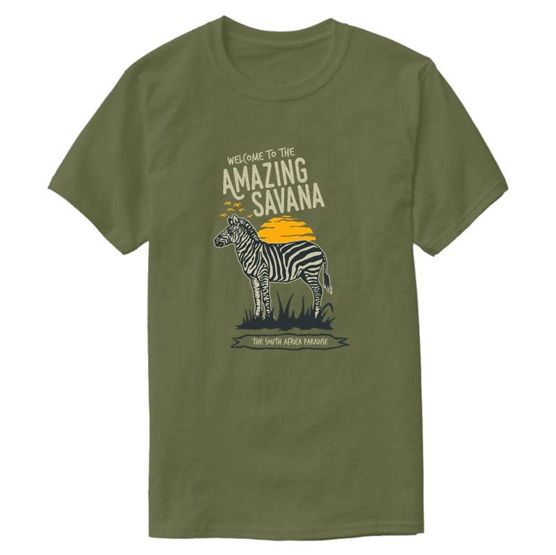 Funny Casual Basic Zebra T-Shirt Male Female 2020 Solid Color Men T-Shirt Comic 100% Cotton Hiphop Top