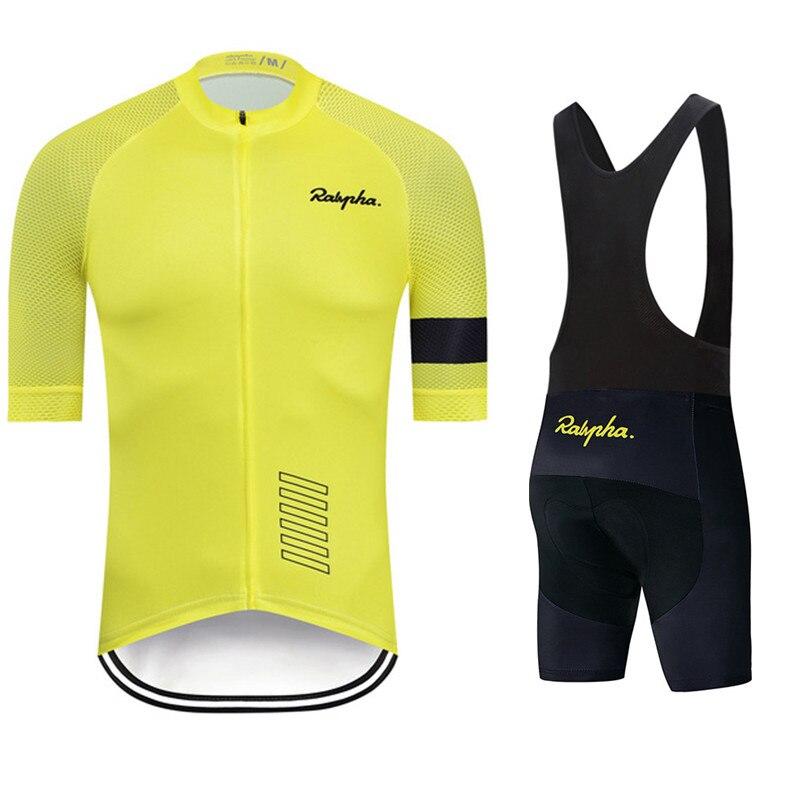 Ralvpha-verano traje De Manga Corta Para Ciclismo Hombre... Ropa De Escocia Montaña...