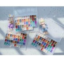 12/24/48 couleurs nacrées aquarelle peinture professionnelle aquarelle Pigments emballage sous 0.4/0.5/1ml mini boîte paquet