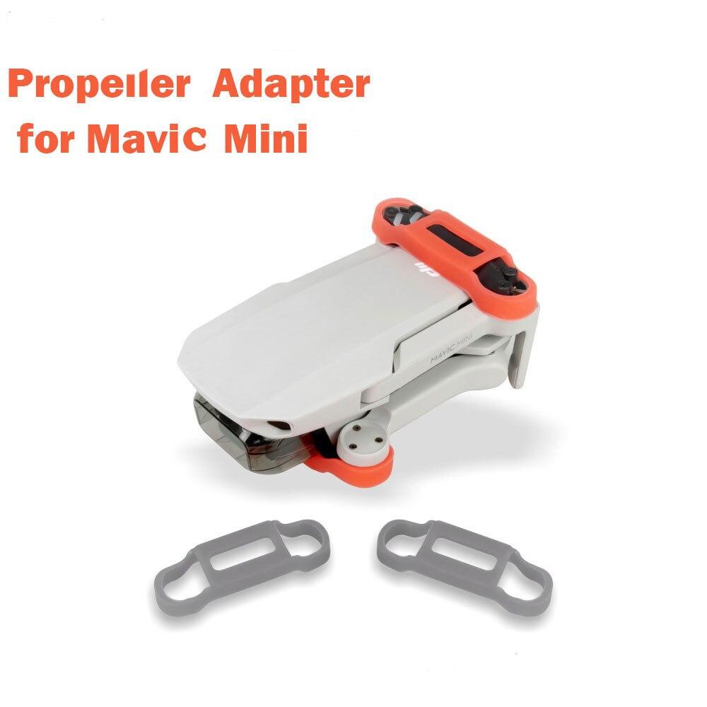 Nuevo Mavic Mini soporte de hélice de silicona estabilizadores fijos de protección para DJI Mavic Mini Drone Accesorios