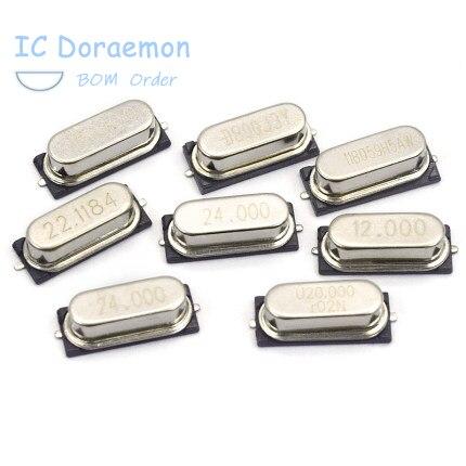10 шт. HC-49US 8,000000 МГц 49smd SMD-49 пассивный кристаллы SMD 2 чувствовать себя 8M 8 МГц 8,000