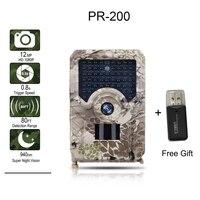 Фотоловушка для дикой природы, 12 МП, 1080P, IP56