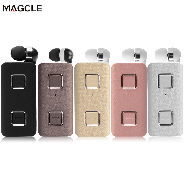 Auriculares Bluetooth estéreo inalámbricos K35 con Clip de alerta vibratoria manos libres para teléfono