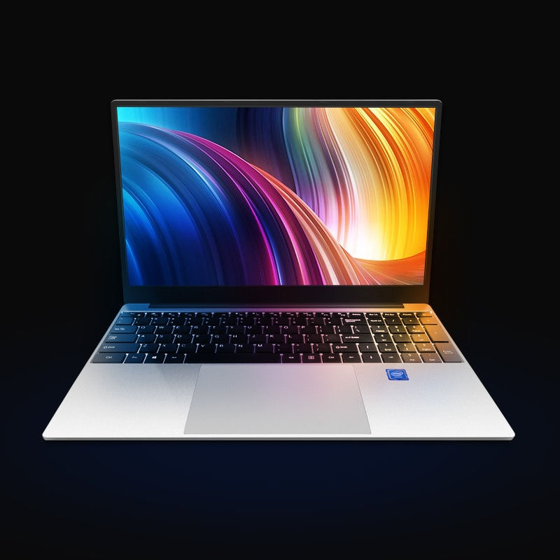 Laptop Computer Best Price New Ultra Thin 15 Inch Mini PC Intel Quad Core Celeron 8GB 128GB Win10 Laptop Computer For Business