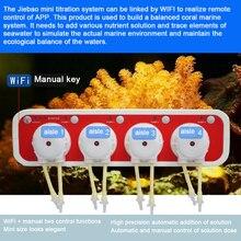 Wifi dozaj titrasyon pompası DOSER3.4 akvaryum yüksek hassasiyetli 2 1 otomatik ve manuel kontrol infüzyon sıvı makinesi Pompe