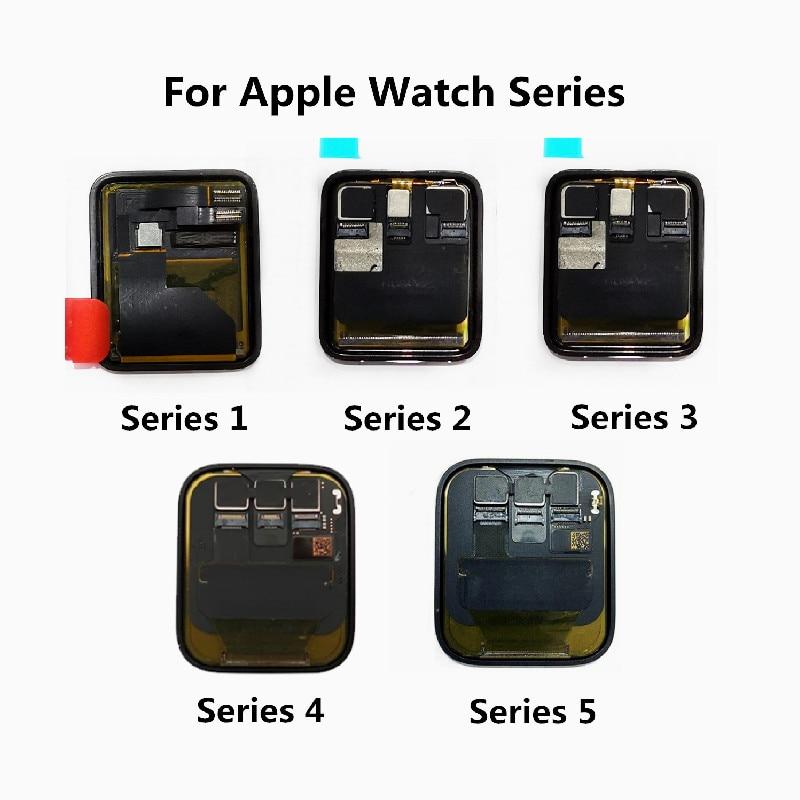 Original Für Apple Uhr Serie 4 Serie 5 LCD Display Bildschirm Für Apple Uhr 1 Serie 2 LCD Touch Screen für iWatch 3 Display