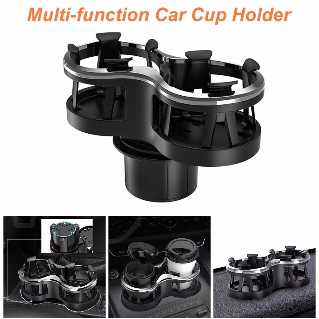 Универсальный автомобильный ABS подстаканник для сидений, 2 держателя для напитков, кофе, авто держатель для бутылок, автомобильный Стайлинг,...